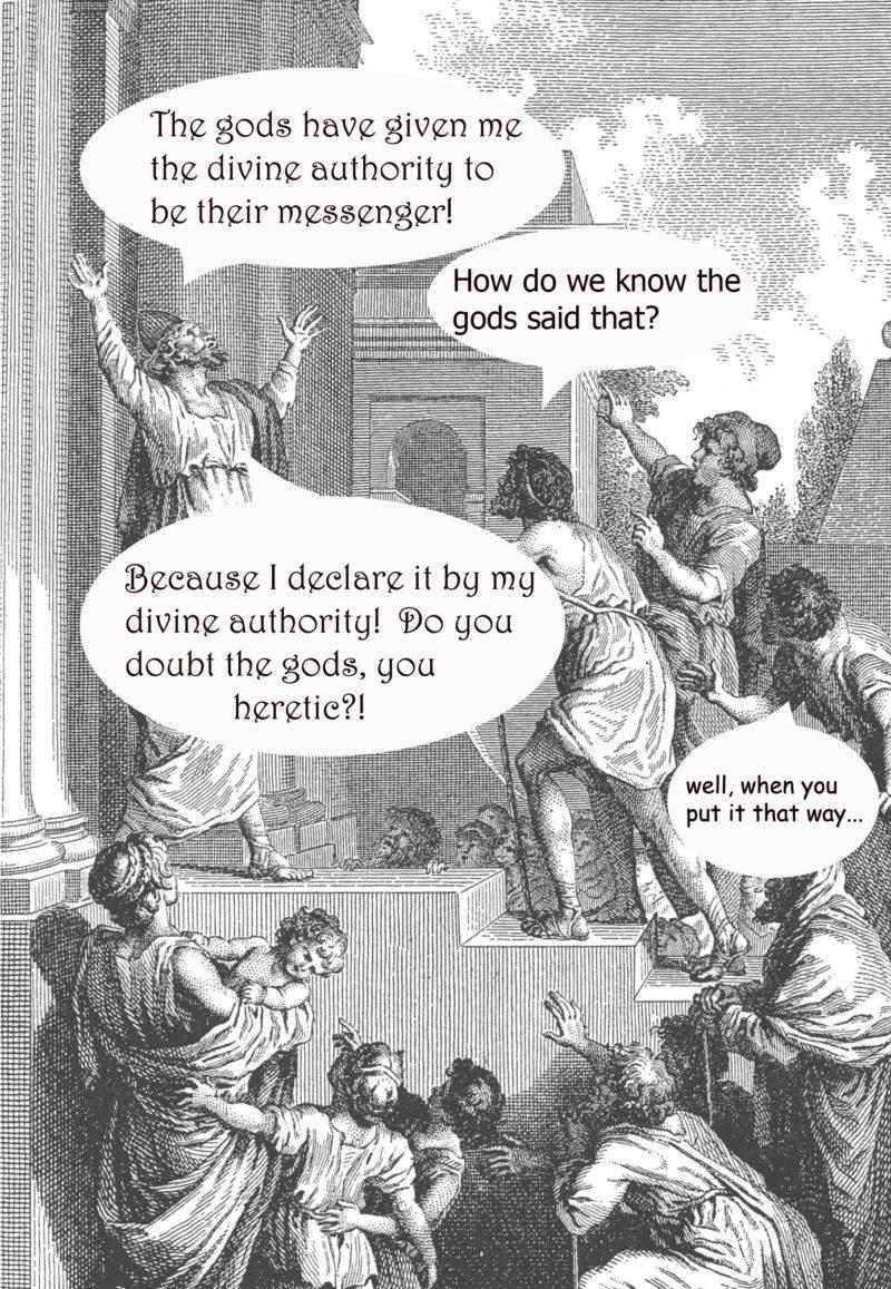 leaders of organized religion